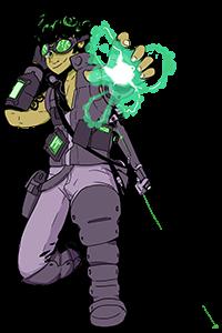 Rami Quinn-Darr, Human Ace Pilot Technomancer
