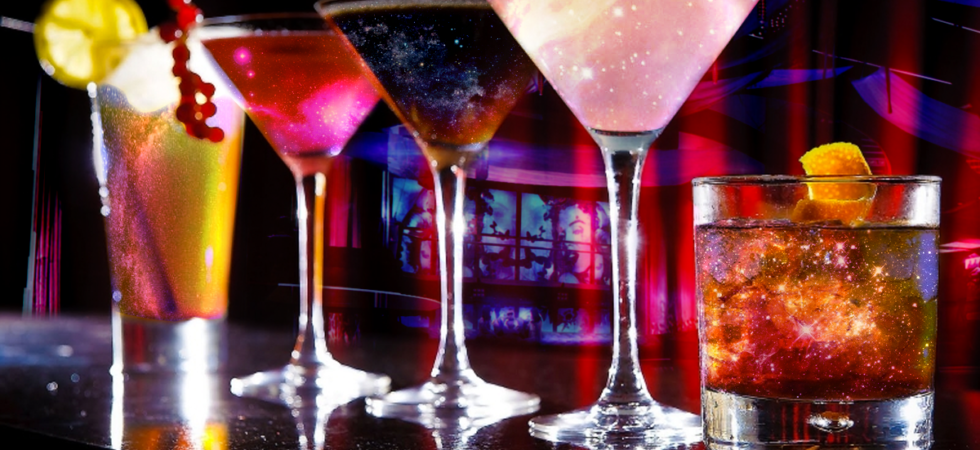 Starry Space Cocktails for Starfinder RPG